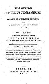 Codicis theodosiani libros sex posteriores, ... denique indicem titulorum duplicem continens