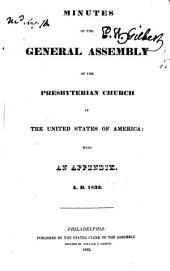 Minutes of the General Assembly of the Presbyterian Church in the United States