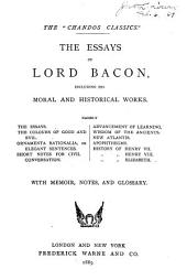 The Essays of Lord Bacon