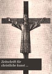 Zeitschrift für christliche Kunst: Band 8