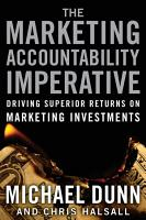 The Marketing Accountability Imperative PDF