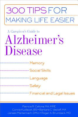 A Caregiver s Guide to Alzheimer s Disease PDF