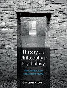 History and Philosophy of Psychology Book