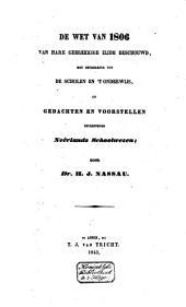 't Lager onderwijs in ons vaderland en deszelfs regeling van staatswege, hoofdzakelijk historisch beschouwd, in verband tot godsdienst en burgerstaat: Volume 2