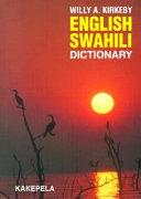 English Swahili Dictionary PDF