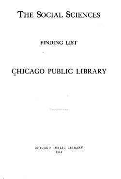 The Social Sciences PDF