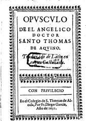 Opusculo (del modo de confessarse y de la pureza de la conciencia) trad. de latin en lengua Castellana