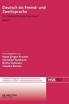 Deutsch als Fremd  und Zweitsprache  1  Halbband PDF