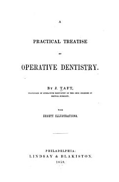 A Practical Treatise on Operative Dentistry PDF