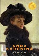 ANNA KARENINA (1000 COPY LTD E