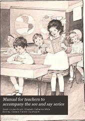 Manual for teachers to accompany the see and say series: Book 2