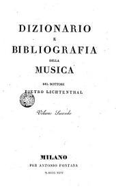 Dizionario e bibliografia della musica
