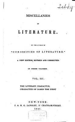 The literary character  Character of James the First PDF