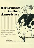 Stravinsky in the Americas PDF