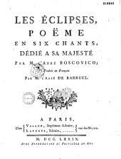 Les éclipses: poëme en six chants...