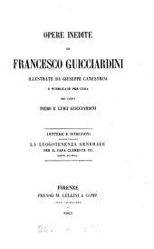 Opere inedite, illustr. da G. Canestrini e pubbl. per cura dei conti P. e L. Guicciardini: Volumes 5-6