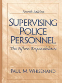 Supervising Police Personnel PDF