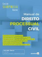Manual de Direito Processual Civil   6   Ed  2020 PDF