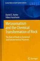 Metasomatism and the Chemical Transformation of Rock PDF