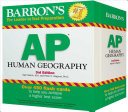 Barron s AP Human Geography Flash Cards Book