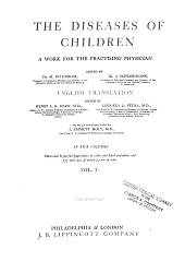 The Diseases of children: a work for the practising physician
