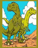 Scary Dinosaur Notebook