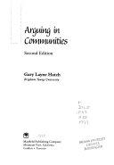 Arguing in Communities