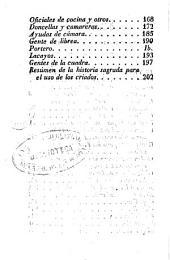 Obligaciones de los amos y de los criados: con un resumen de la historia sagrada desde la creación del mundo hasta nuestros días, para el uso e instrucción de los criados