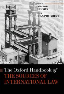 The Oxford Handbook on the Sources of International Law PDF