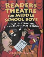 Readers Theatre for Middle School Boys PDF