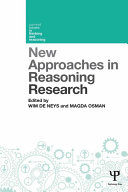 New Approaches in Reasoning Research
