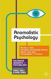 Anomalistic Psychology