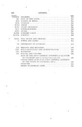 General Laws of the State of Colorado: Comprising that Portion of the Revised Statutes of Colorado, and the General Acts of the Subsequent Legislative Assemblies of Colorado Territory for the Years 1870, 1872, 1874, and 1876, Still Remaining in Force, and the General Laws Enacted at the First Session of the General Assembly of the State of Colorado, Convened November 1, 1876, Together with the Declaration of Independence, the Constitution of the United States, and the Amendments Thereto, the Enabling Act, the Constitution of the State of Colorado, and the Proclamation of the President of the United States Declaring the Admission of the State