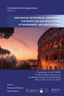 Earthquake Geotechnical Engineering for Protection and Development of Environment and Constructions