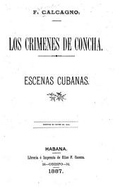 Los crímenes de Concha: Escenas cubanas