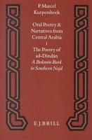 Oral poetry and narratives from Central Arabia  1  The poetry of ad Dind  n PDF