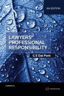 Lawyers  Professional Responsibility