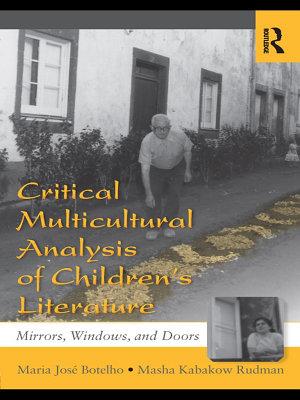 Critical Multicultural Analysis of Children s Literature