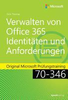 Verwalten von Office 365 Identit  ten und  Anforderungen PDF