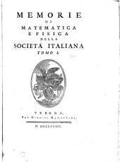Rendiconti - Accademia nazionale dei quaranta: Volume 1