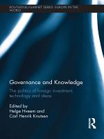 Governance and Knowledge PDF