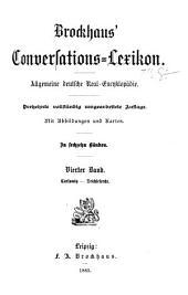 Brockhaus' Conversations-Lexikon: Band 4