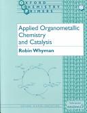 Applied Organometallic Chemistry and Catalysis PDF