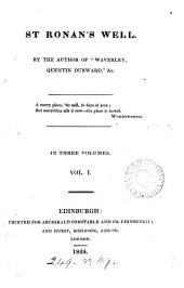 St Ronan's Well: Volume 1