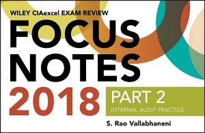 Wiley CIAexcel Exam Review 2018 Focus Notes  Part 2  PDF