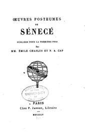 Oeuvres posthumes de Sénecé