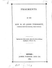 Fragments [in verse.].