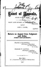 Court of Appeals 1889 Vol. 9: 1st Division