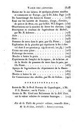 Bibliothèque universelle des sciences, belles-lettres et arts: Volume1