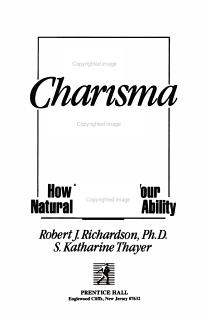 The Charisma Factor Book